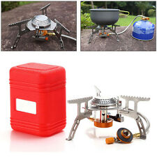 Portable Outdoor Split Gas Stove Camping Hiking Foldable Electronic Gas Stoves