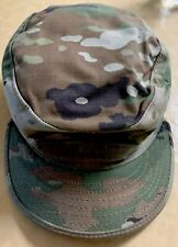 USA Army National Guard Green Camouflage Hat OCP Patrol Cap Size 7 1/8 LTC