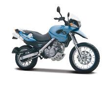 BMW F 650 GS hellblau metallic maisto 1:18 Motorrad Modell diecast model