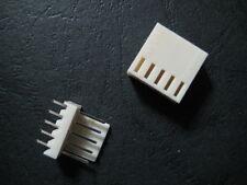 5 set 5 Pin 5P PCB Power Connector Plug Socket header wire Jack 2510 2.54mm