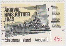 (AI36)1995 Christmas Island deHavilliand DH98 45c SG407
