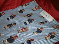 RALPH LAUREN POLO TEDDY BEAR  STANDARD  PILLOWCASES CUSTOM RARE