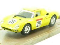 Model Box Diecast 8436 Ferrari 250 LM Le Mans 1965 Yellow 1 43 Scale Boxed
