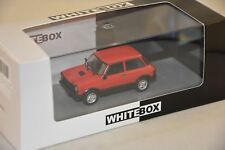 AUTOBIANCHI A112 ABARTH ROUGE 1979 WHITEBOX 1/43