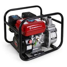 """EBERTH 2"""" 5,5 CV Pompe à eau à essence thermique Motorpompe 4 temps 30.000 L/h"""