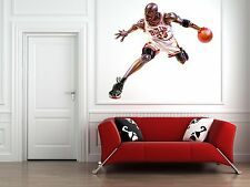 Ordinaire Michael Jordan Indoor/Outdoor Wall Decal Large 24 Inch Contour Cut Be Like  Mike