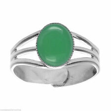 Cabochon Green Costume Rings