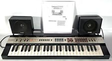 RARE Vintage Casio MT-400V Casiotone Keyboard Synthesizer w/Speakers & Manual