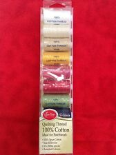 SEW EASY - QUILTING THREAD  SET- 100% COTTON