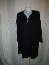Long Sleeve Dress size LG Old Navy color Black 55%cotton 45% rayon NWT