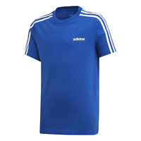 adidas Core Kinder Sport Freizeit Training Shirt Essentials 3S T-shirt blau