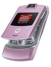 New Motorola RAZR V3m Verizon No Contract 3G Camera MP3 GPS Cell Phone Pink