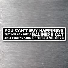 Buy a Balinese Cat sticker quality 7 yr water/fade proof vinyl cat kitten