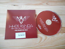 CD Indie Whos Panda - Better Tell The Truth (14 Song) Promo 36ZWEI SNOWWHITE
