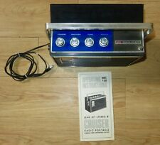 Vintage1964 Lear Jet Stereo  8 Track Player P-560 Cruiser Radio Portable Stereo