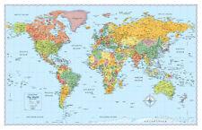 Rand Mcnally Signature World Map Giant Poster Print, 50x32