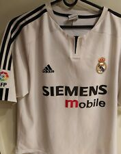 Real Madrid Maglia 2002  Home XL SHIRT MAILLOT TRIKOT Vintage