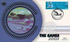 Set De 5 Benham la Commonwealth Games First Day Covers 2002