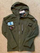 NWT Mens Quicksilver Black Alder Ski Snow Jacket GORE-TEX Green Size XS $470