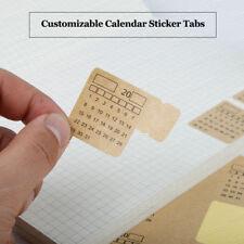 NEW! Customizable Generic Calendar Divider Tab Sticker Planner Bullet Journal