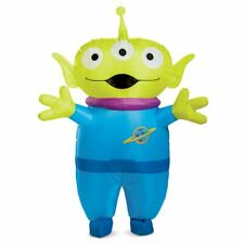 Adult Mens Disney Toy Story 4 Squeeze Alien Inflatable Halloween Costume Group