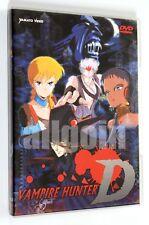 DVD VAMPIRE HUNTER D Yamato Video 2003 Anime RARO FUORI CATALOGO
