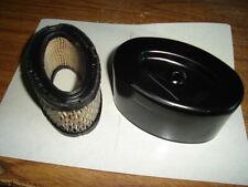 Genuine 10HP Tecumseh Engine Oval Air Filter Cover Set 33269A 33268