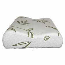 Luxury Bamboo Pillow Anti Bacterial Memory Foam Fabric Cover  Contour Shape