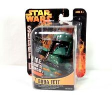 Star Wars Boba Fett Super D, lights & sounds, 2005 unopened