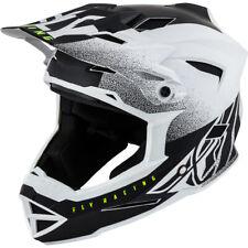 Fly Racing Default Full-Face MTB/BMX Helmet Youth Medium Matte White/Black