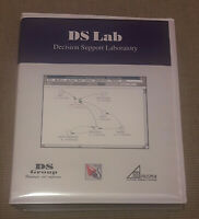 """DS LAB - Decision Support Laboratory (DS Group 1992) Manuale Italiano+disco 3.5"""""""