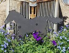 Horse Metal Garden Stake