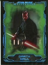 Darth Maul Star Wars Collectable Trading Cards