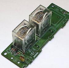 TWO 2 PCS lot - OMRON 10A 12 volt DC coil DPDT relay 12V - BONUS PARTS diodes