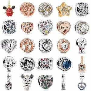 New Design European Charms Silver Pendant Dangle Bead Fit 925 Bracelet Xmas Gift