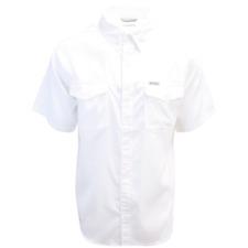 Columbia Men's White Utilizer II Solid Short Sleeve Shirt (Retail $60.00)