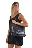 Borsa a spalla THE BRIDGE Shopper shopping bag chiusura zip donna woman made ...