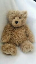 CASSNER handmade Long Hair Teddy Bear artist Chris Cassner~PA~BEANS Weighted 11""