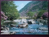 POSTCARD CAERNARVONSHIRE THE ABERGLASLYN PASS
