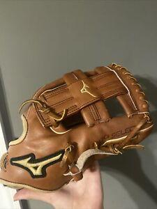 "Mizuno Pro Select 11.5"" Baseball Glove Gold 11.5 In"