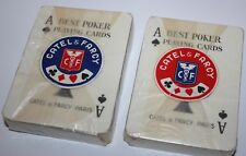 1950s Messageries Maritimes Catel & Farcy Paris Best Poker Cards Unused Sealed!