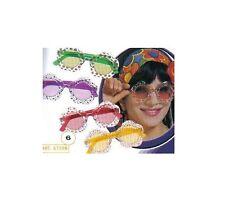 LOT DE 12 PAIRES lunettes FLEURS John Lennon 1970 HIPPIE DEGUISEMENT 6759 DESTOC