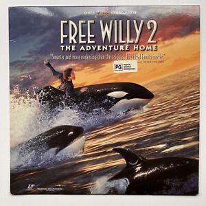 Free Willy 2 Laserdisc 1995 Vintage Movie Disc
