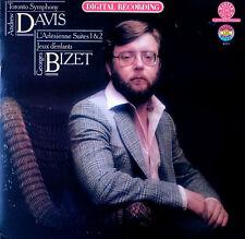 BIZET / L'ARLESIENNE 1&2 - CBS MASTERSOUND -  ANDREW DAVIS - DIGITAL LP