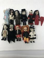 LOT OF 11   Living Dead Dolls Minis  loose  EXCELLENT CONDITION