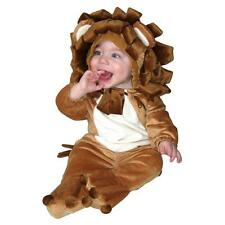 NEW PLUSH LION One piece Jumpsuit Jumper Halloween Animal COSTUME 6m-12m