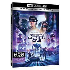 READY PLAYER ONE 4K UHD/Blu-ray + Digital HD NEW #ReadyPlayerOne #Fantasy #SciFi