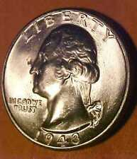 1943 Washington Quarter ~WWII issue ~Amazing White ~Gem Uncirculated ☆Make Offer