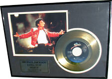 Michael Jackson BEAT IT Disque d'or Framed GOLD Record Sony Award OFFICIAL 1998