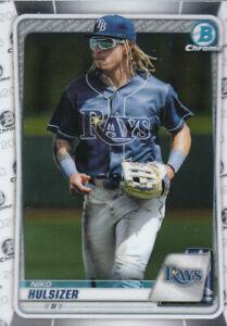"2020 Bowman Chrome Draft Baseball ""Main Set"" Cards #BD1 to #BD200"